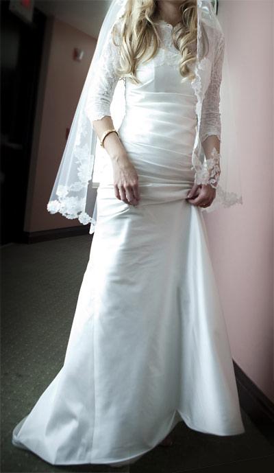 Modern Trousseau Gown - Size 8 - Chosson Kallah