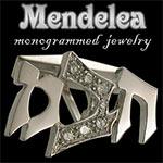 Mendelea Monogrammed Jewelry
