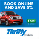 Thrifty Car Rental tile image